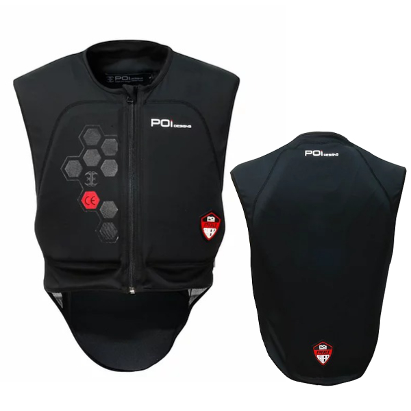 POI designs BPJ-03P-BK/L Sport Guard Body CE