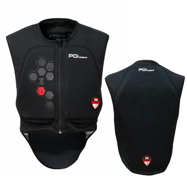 POI designs BPJ-03P-BK/XL Sport Guard Body CE