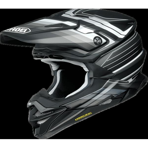SHOEI ヘルメット VFX-WR PINNACLE【ブイエフエックス-ダブルアールピナクル】 オフロードヘルメット GREY/BLACK(マットカラー)