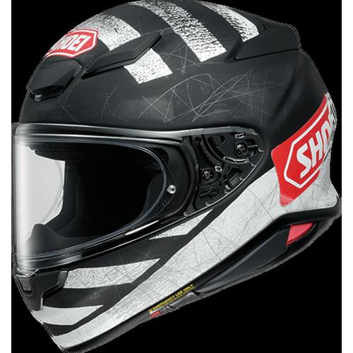 SHOEI ヘルメット (2021年8月末までの受注限定)Z-8 SCANNER [ゼットエイト]スキャナー BLACK/WHITE マットカラー