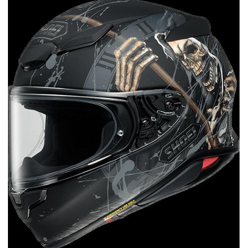 SHOEI ヘルメット (2021年10月末までの受注限定)Z-8 FAUST [ゼットエイト]ファウスト BLACK/GREY マットカラー