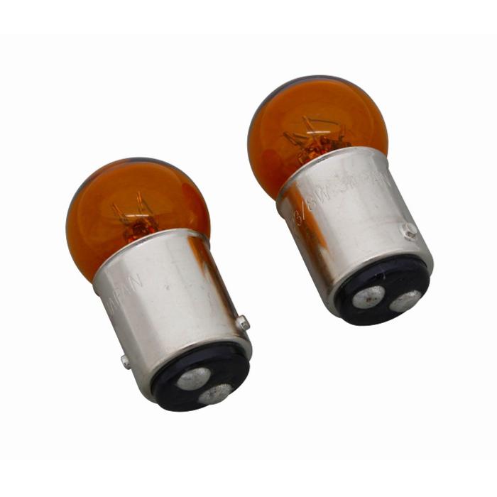 POSH FAITH ウインカーバルブ(2ケSET) オレンジバルブ 12V-23W/8W