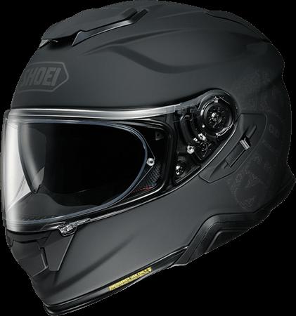SHOEI ヘルメット GT-Air II EMBLEM【エンブレム】フルフェイスヘルメットTC-5 (BLACK/SILVER) マットカラー