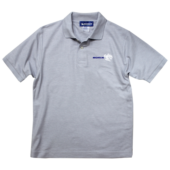 Michelin 224218 Michelin Polo-shirts/Bib グレー◆全3色◆