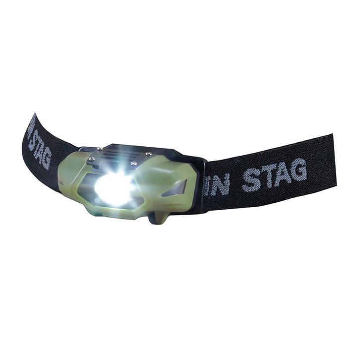 CAPTAIN STAG UK4059 CAPTAIN STAG シンプルLEDヘッドライト グリーン