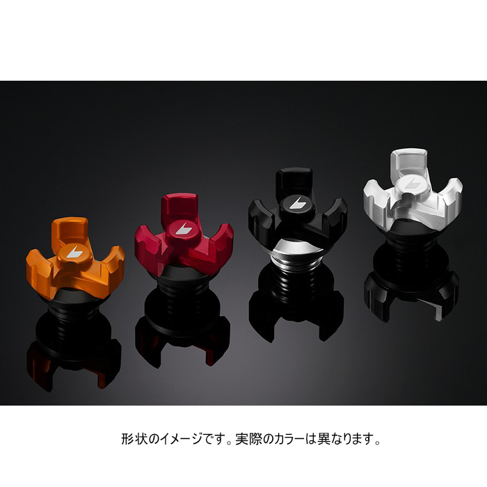 バイカーズ オイルフィラーキャップ チタン Ninja400/250 18-21 他