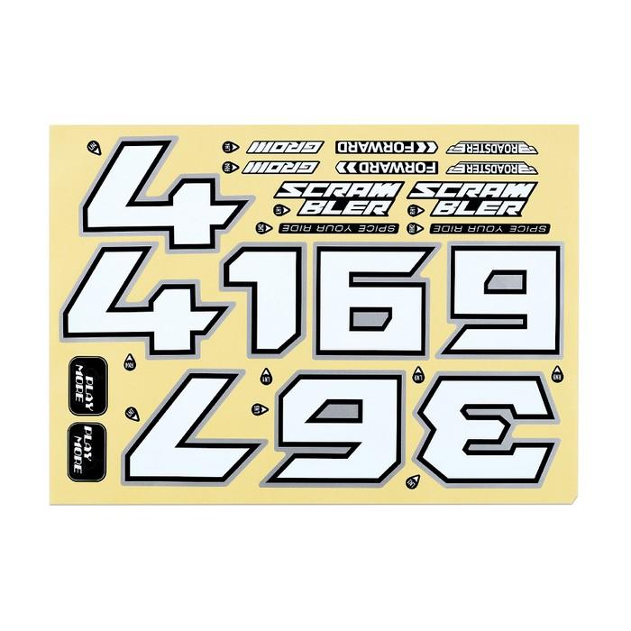 バイカーズ ステッカーセット スクランブラー GROM 21