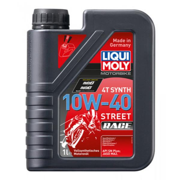 LIQUI MOLY Motorbike 4T Synth 10W-40 Street Race
