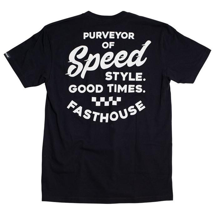 DIRTFREAK FASTHOUSE エンフィールド Tシャツ ブラック◆全2色◆