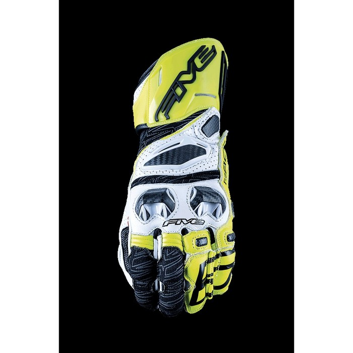 FIVE RFX RACE ホワイト/フローイエロー ◆全5色◆