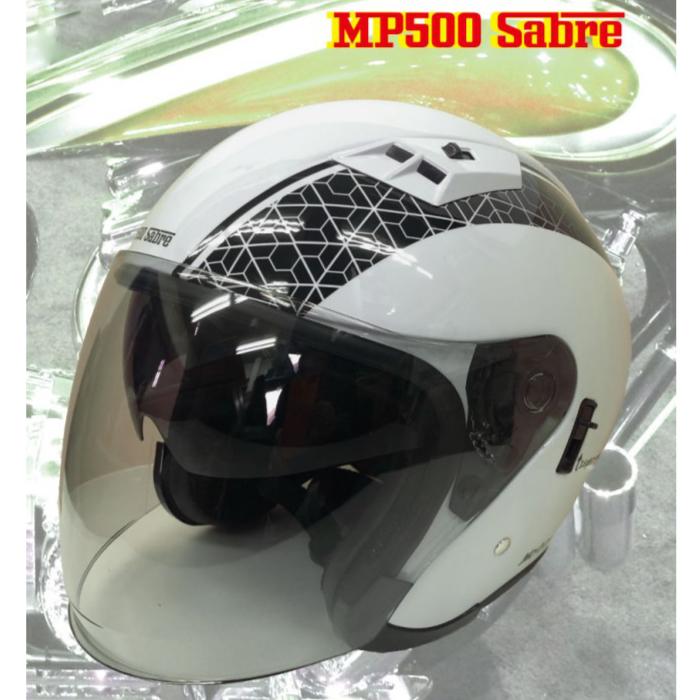 GPカンパニー MP500 SABRE ヘルメット WHTIE