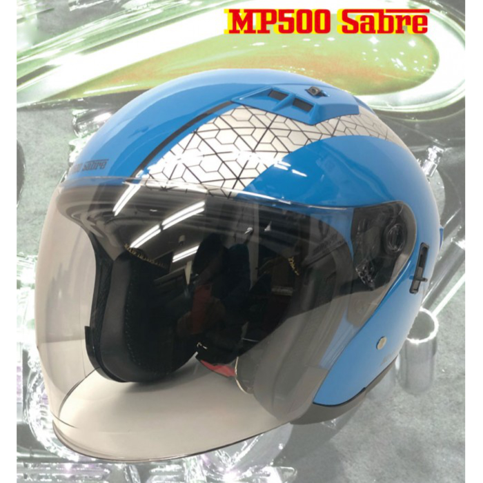 GPカンパニー MP500 SABRE ヘルメット BLUE