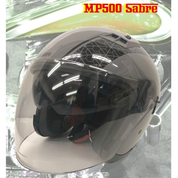 GPカンパニー MP500 SABRE ヘルメット GRAY