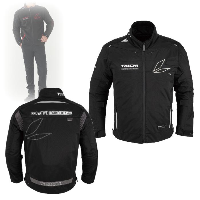 アールエスタイチ RSJ725 レーサー オールシーズン ジャケット BLACK/FOIL◆全4色◆