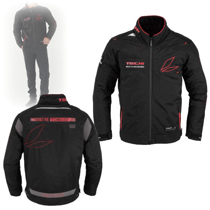 アールエスタイチ RSJ725 レーサー オールシーズン ジャケット BLACK/RED◆全4色◆