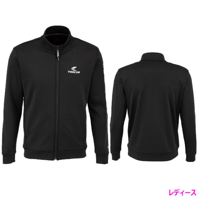 アールエスタイチ (レディース)RSU626 ウォームライド ジップシャツ LOGO BLACK ◆全2色◆