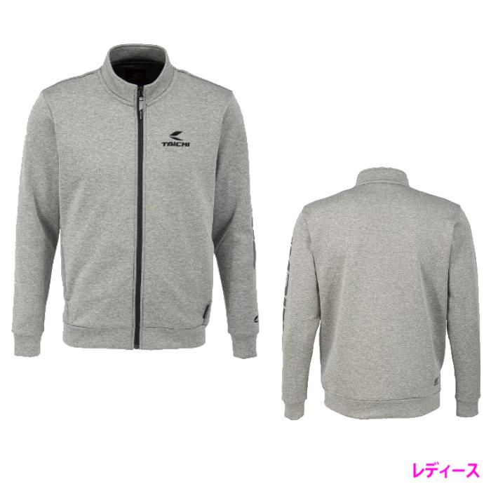 アールエスタイチ (レディース)RSU626 ウォームライド ジップシャツ LOGO GRAY ◆全2色◆
