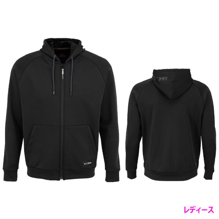 アールエスタイチ (レディース)RSU627 ウォームライド フーデッドシャツ BLACK ◆全2色◆