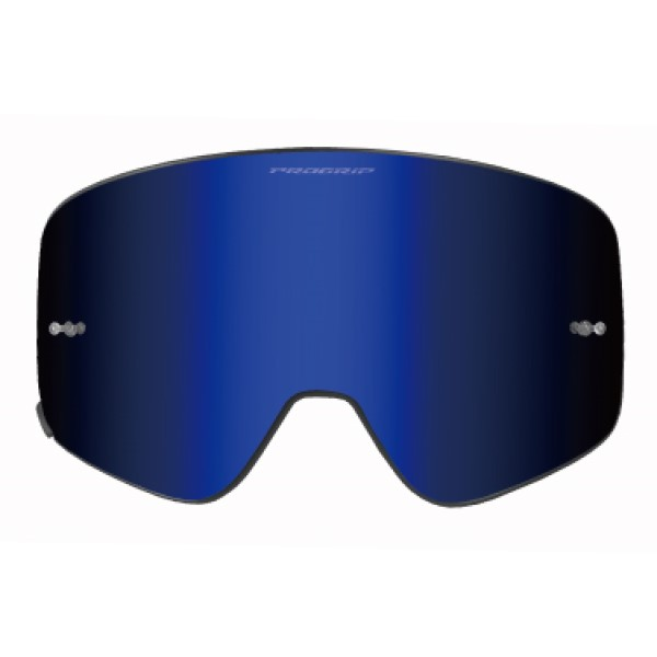 ROUGH&ROAD PROGRIP MAGNETゴーグル PG3205専用リプレイスレンズ ブルー◆全5色◆