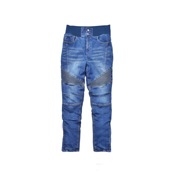 J-AMBLE (レディース)ROP-54 リブウォームストレッチパンツ BLUE DENIM◆全3色◆