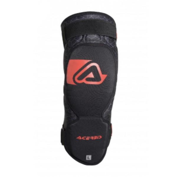 ACERBIS SOFT 3.0 ニーガード ブラック/レッド