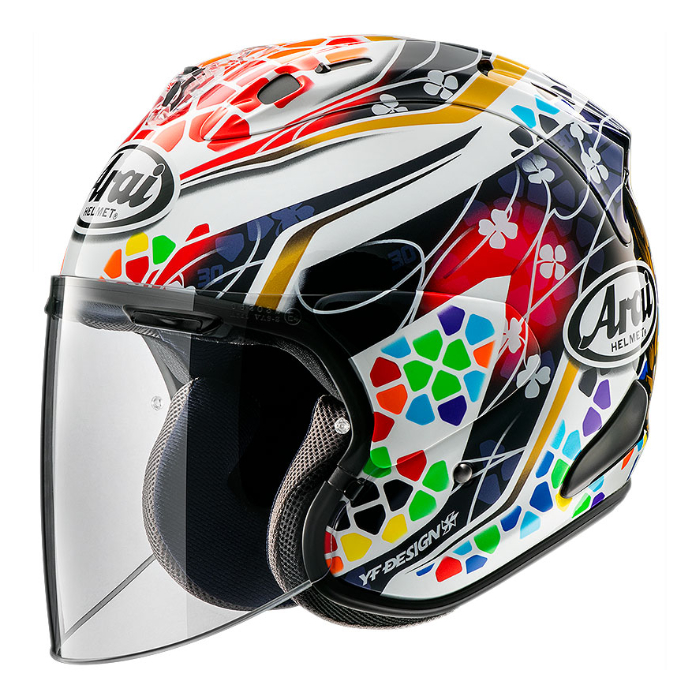 Arai VZ-RAM NAKAGAMI GP2 [ナカガミ GP2] ジェットヘルメット