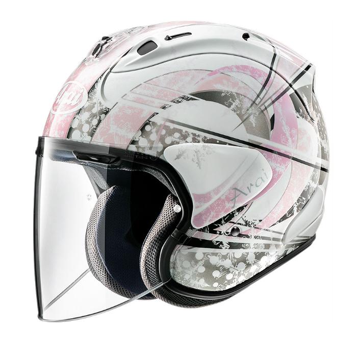 Arai VZ-RAM SNOW DOME  [スノードーム] PINK ジェットヘルメット