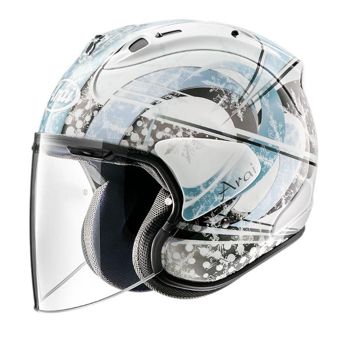Arai VZ-RAM SNOW DOME  [スノードーム] BLUE ジェットヘルメット