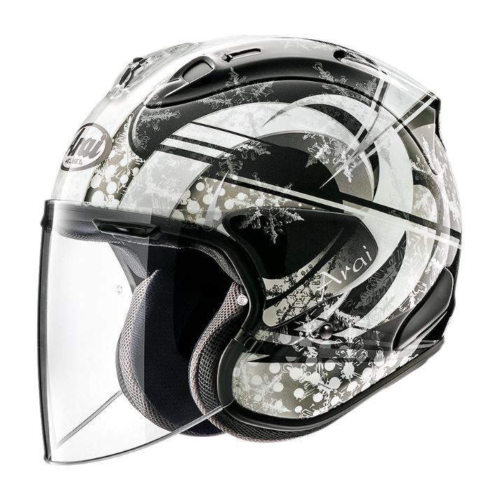 Arai VZ-RAM SNOW DOME  [スノードーム] BLACK ジェットヘルメット