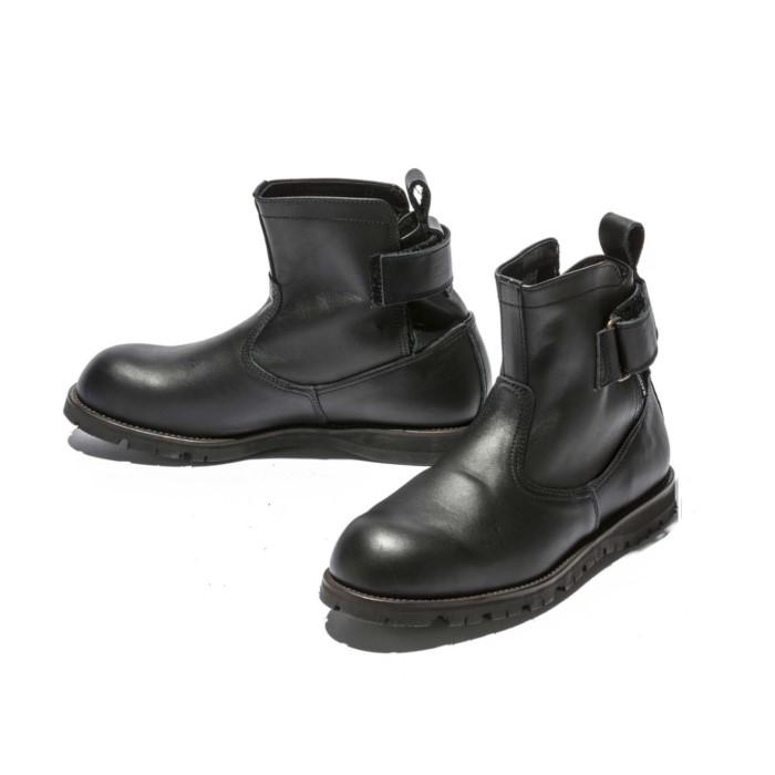 KADOYA 4327 EG BLACK アンクルブーツ ブラック