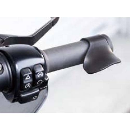 KIJIMA 201-599 キジマ スロットルアシスト インチ対応 ブラック 40mmまで