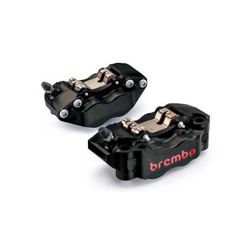 BREMBO Radial CNC Caliper KIT P4 30/34mm GP4-RB CALIPER KIT 108mm BLACK 左右セット