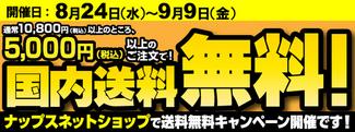 Web限定5000円送料無料