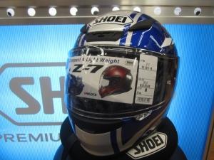 SHOEI ヘルメットZ7 YAMAHA RACING 入荷してます。