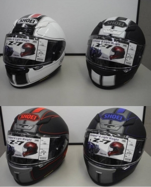 SHOEIヘルメットの新色がぞくぞく入荷!!