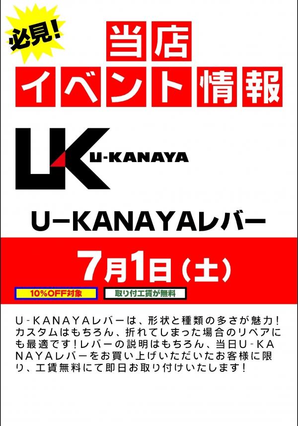 U-KANAYAレバー