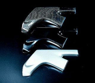 Radial Bit 【2週間ほど】フレームヒートガード FRP 左右セット