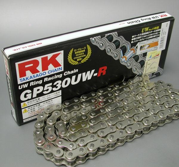 RK JAPAN ★【ノークレーム/ノーリターン】GP530XW XWリングチェーン