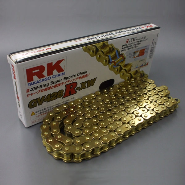 RK JAPAN GS420MR-U Uリングチェーン