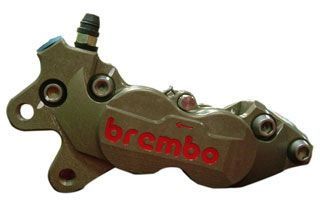 BREMBO 32mm/36mm 2ピース ビレット チタンピストンGPキャリパー