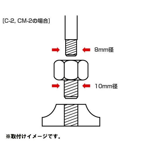 TANAX ネジ径変換アダプター
