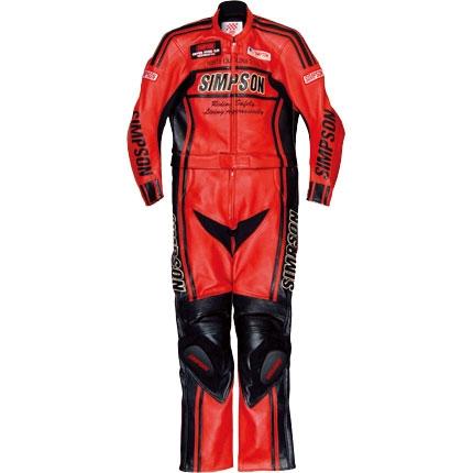 SIMPSON 2PC レザースーツ
