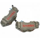 BREMBO 30mm/34mm CNC 4ポットラジアルキャリパー左右セット