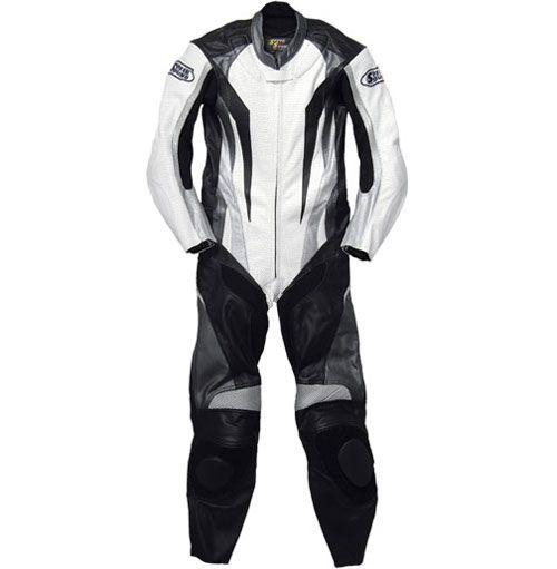 SKY 【特価品】SOS MFJ公認レザースーツ(パンチング加工)