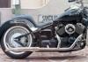 Easy Riders FLHスタイル2in1フィッシュテールマフラー