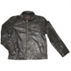 MOTO FIELD Leather Single Riders Jacket