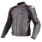 komine JK-533 Titanium Leather Jacket LEVATA HP