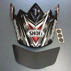 SHOEI ヘルメット V-430 K-DUB用バイザー