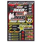 One industries ステッカーKIT 4mil CHAD REED 09