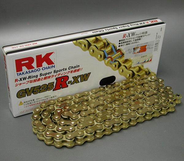 RK JAPAN GV525R-XW XWリングチェーン